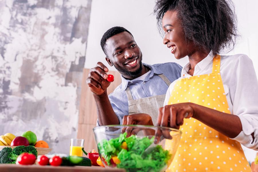 10 passos para seguir uma alimentação saudável