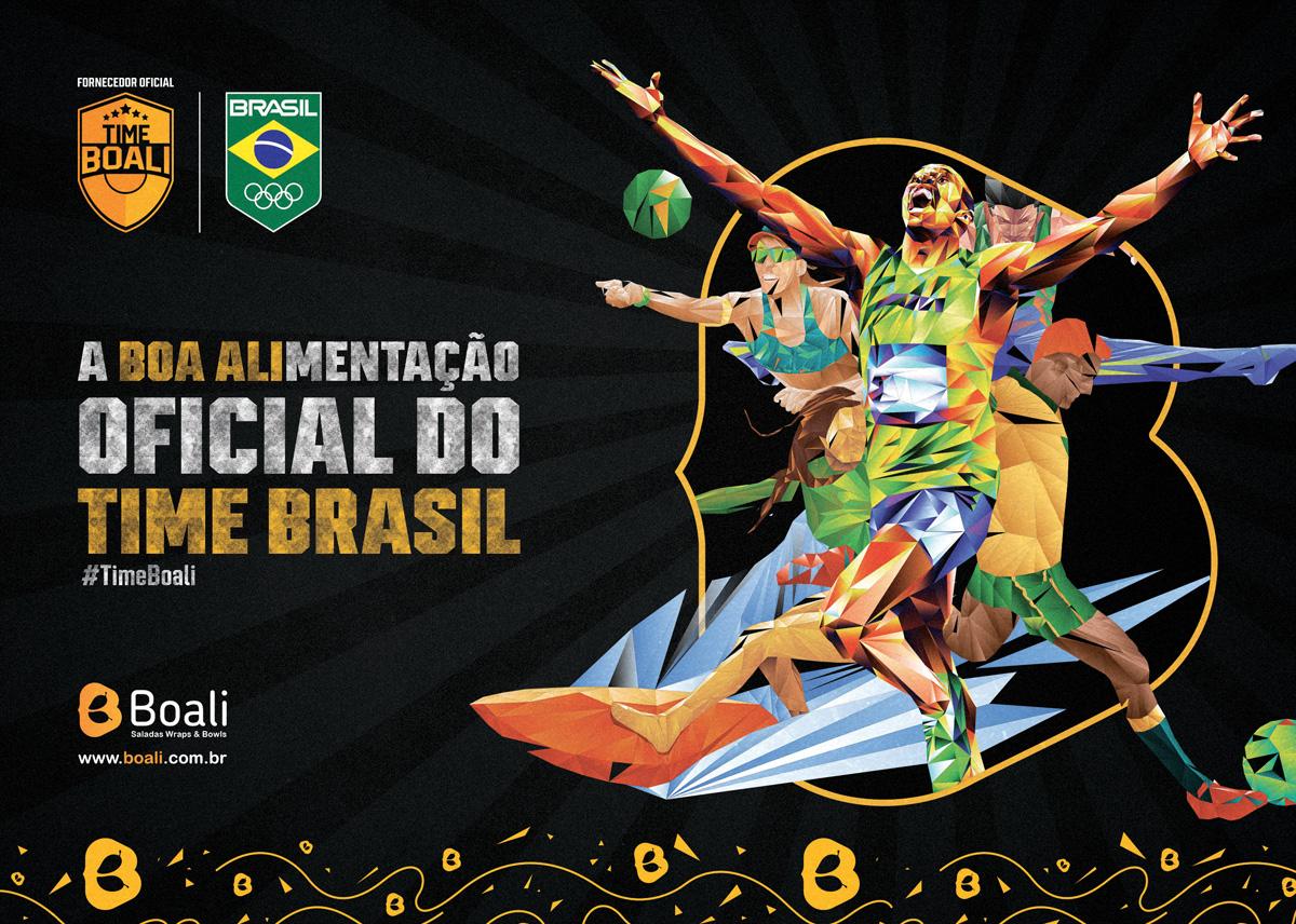 TIME BOALI TIME BRASIL boali alimentação oficial do time brasil franquia boali