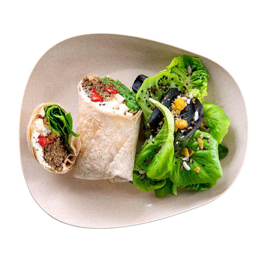 Wrap Integral Quente De Kebab Boali Vegano