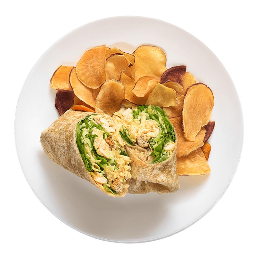 Wrap_Frango-Caesar fresco wrasp saudáveis franquia alimentação saudável boali