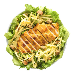 salada ave caesar saladonas boali franquia de alimentação saudável