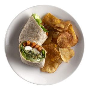 wrap frango ao pesto fresco wraps saudáveis franquia alimentação saudável boali