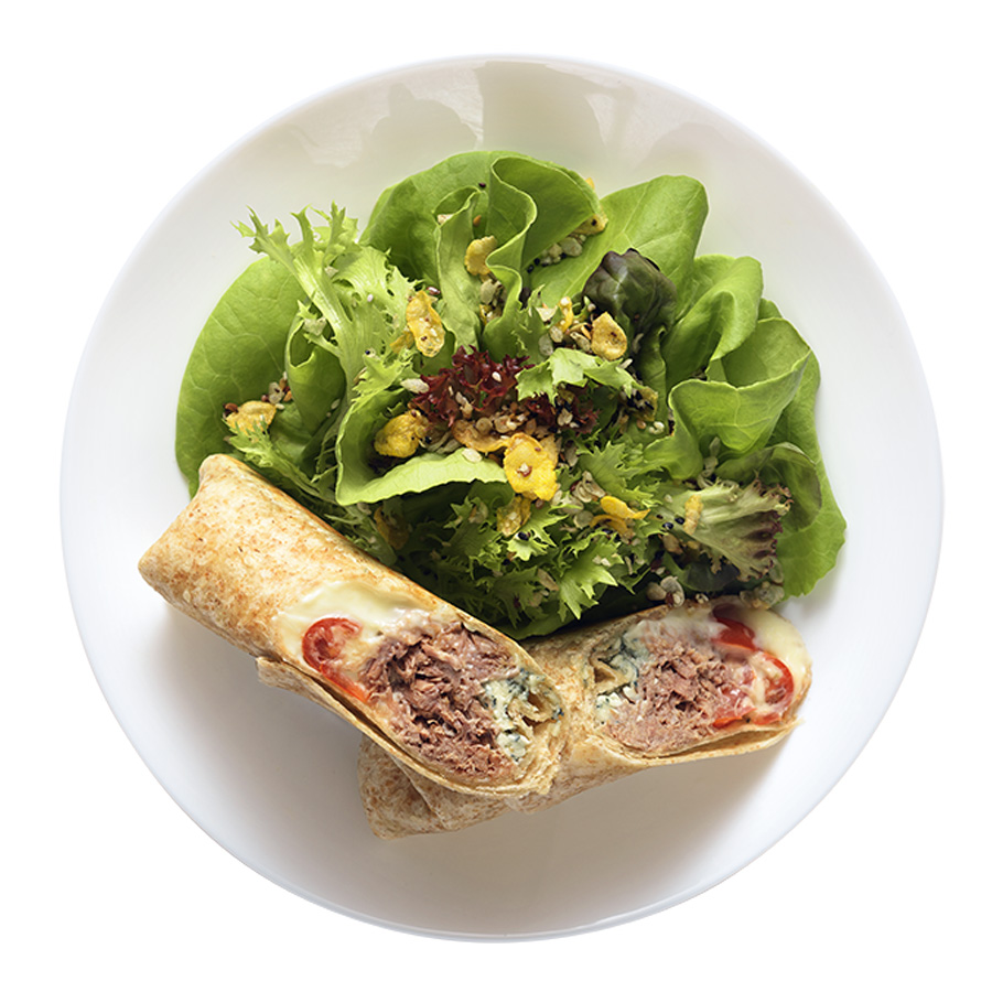 wrap fresco carne com gorgozola wraps saudáveis franquia alimentação saudável Boali