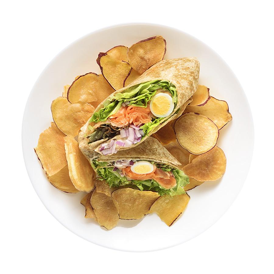 wrap salmão fresco wraps saudáveis franquia alimentação saudável Boali