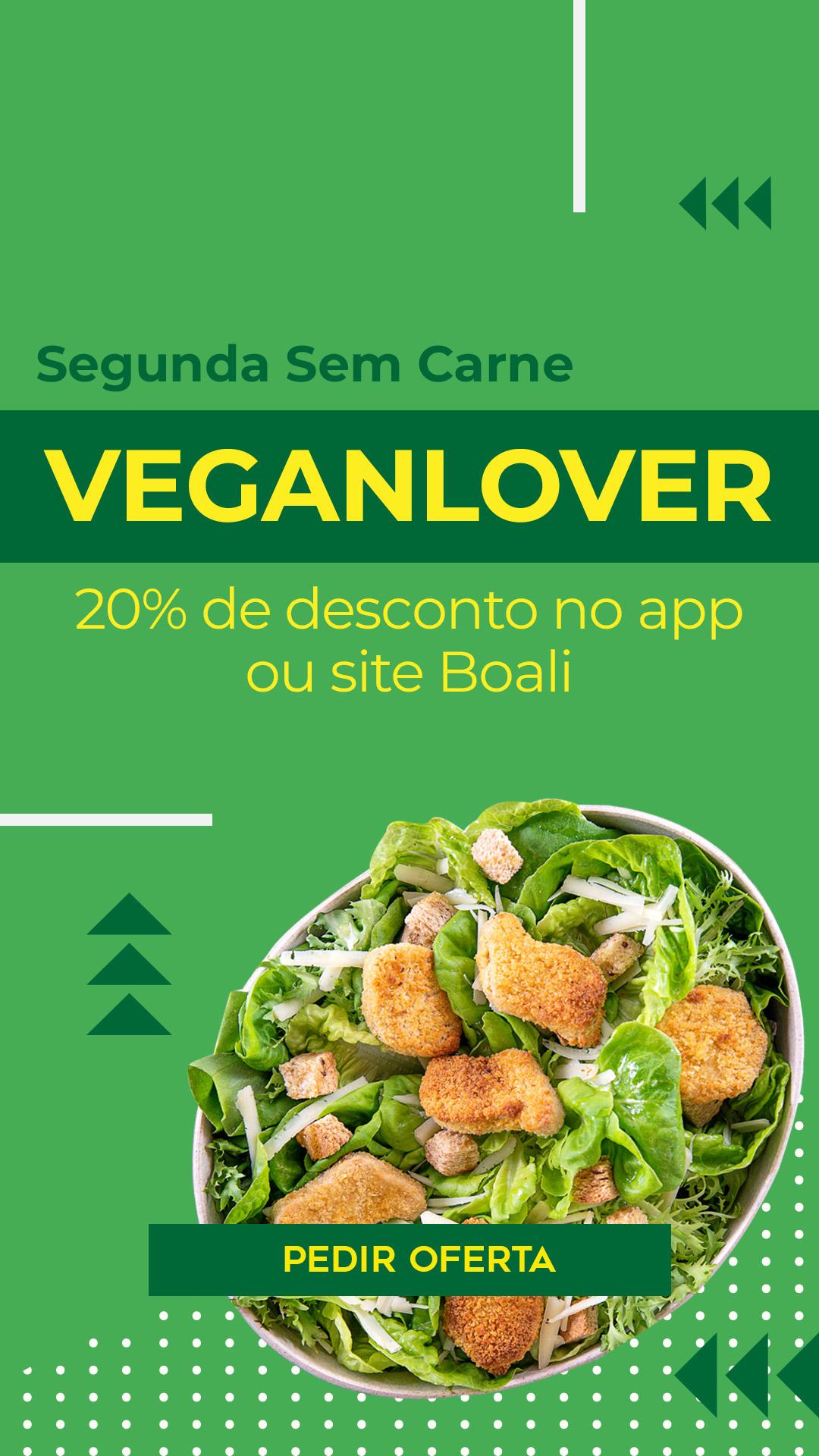 oferta de salada vegana boali - pedir agora online